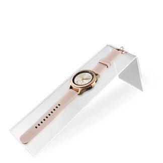 podłużny ekspozytor na zegarek lub biżuterie z plexi