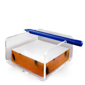 Gadżet do firmy podajnik lub organizer z długopisem