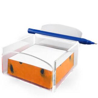 Praktyczny organizer na biurko lub do firmy z miejscem na długopis