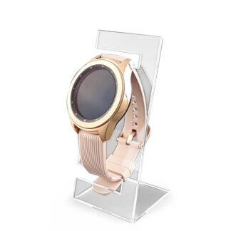 stojak na pojedynczy zegarek dla sklepów z plexi