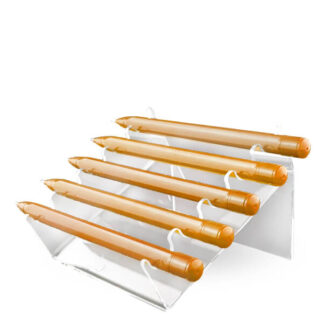stabilny stojak na długopisy dla drogerii papierniczych