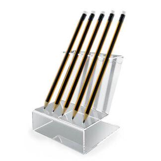 ekskluzywny alternatywny stojak na długopisy lub ołówki z plexi
