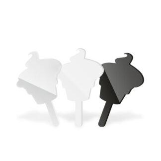 wtykacze do lodów w kształcie babeczek