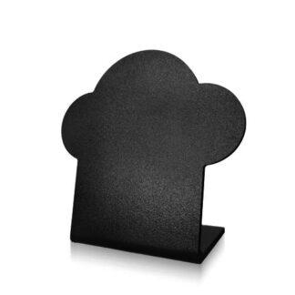 tablica kredowa w kształcie babki bez napisu