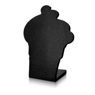 tabliczka kredowa w kształcie kremówki bez napisu