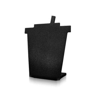 kredowa tabliczka w kształcie kubka z pokrywką bez napisu