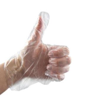 Rękawiczka z folii