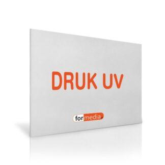 tablica z plexi z drukiem UV