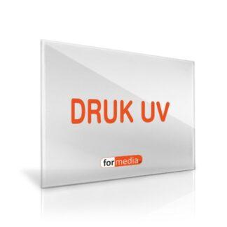 plyta z plexi napis druk UV