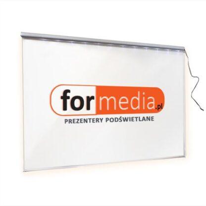 tablica ledowa podswietlana logo