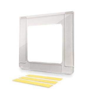 ramka kwadrat samoprzylepna na ulotke