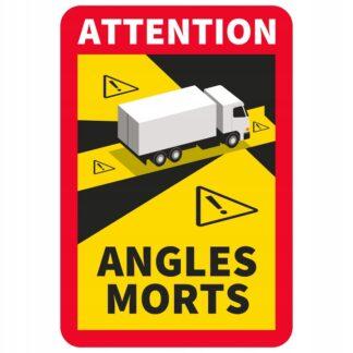 angles morts nalepka dla pojazdow ciezarowych oznaczenie martwego pola