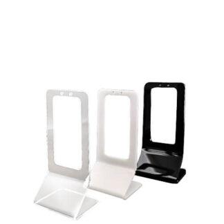 stojak na parę kolczyków z okienkiem z plexi