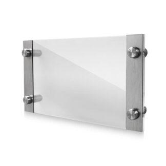 ramka z elementami srebrnymi nascienna