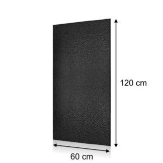 wysoka tablica kredowa prostokątna 60x120cm