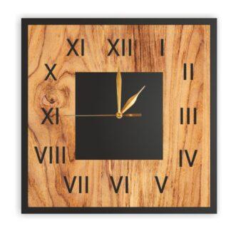 zegar naścienny plexi liczby rzymskie