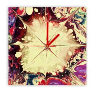 zegar naścienny farba