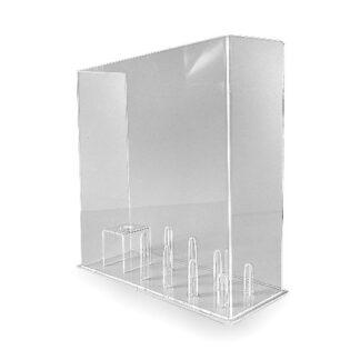 Wysoki trzymacz z plexiglas do lodow wafli