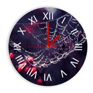 zegar z grafiką