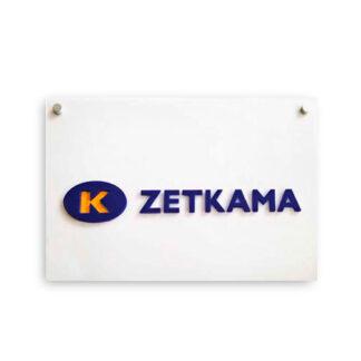 Tablica na sciane z logo