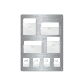Tablica aluminiowa na ulotki