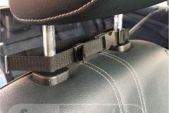 osłona z poliwęglanu , mocowanie we wnętrzu taksówki od Formedia
