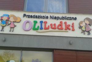 litery przestrzenne do przedszkola