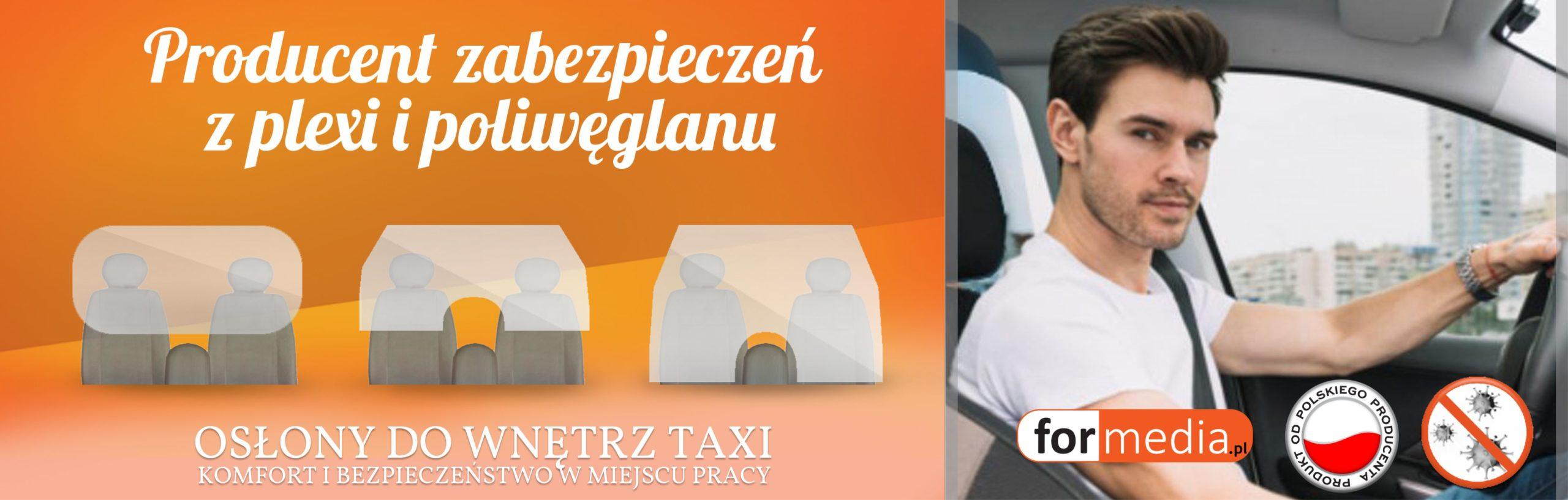 osłony do wnętrz taxi