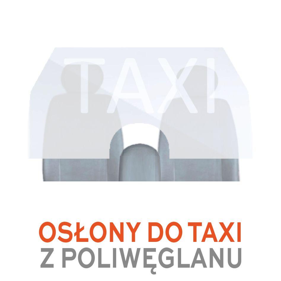osłony do taxi z poliwęglanu