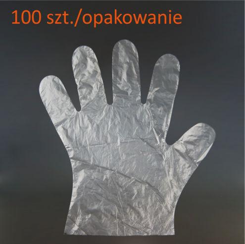 dłonie foliowa ochrona rekawiczka do pracy