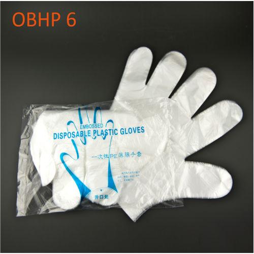 zestaw rekawiczek plastic gloves