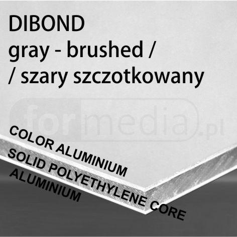 kolorowe aluminium lekkie cienkie tworzywo szary szczotkowany