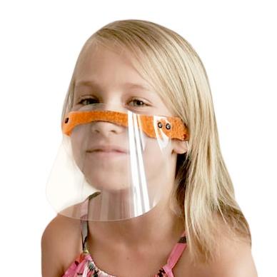 maska ochronna z plexi