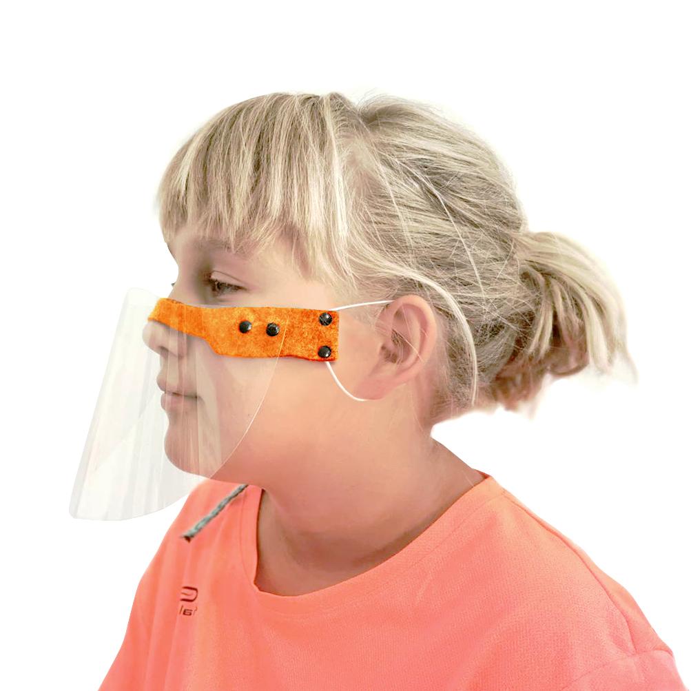półprzyłbica dla dzieci na nos i usta