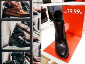 podstawka z ceną na buty