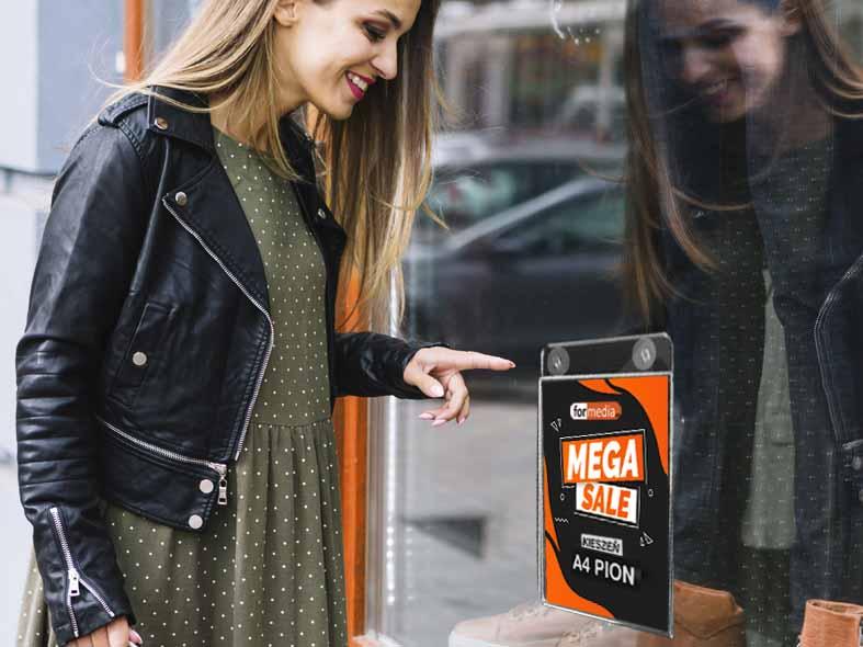 Reklama na przyssawkach