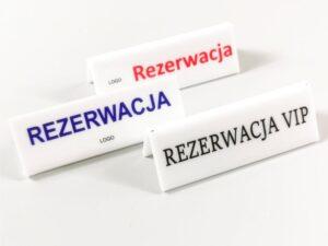 rezerwacja tabliczki na stół
