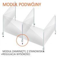 formedia oslony modulowe biurowe na biurko grodziowe na burko oslona fmp 24