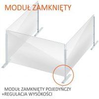formedia oslony modulowe biurowe na biurko grodziowe na burko oslona fmp 25