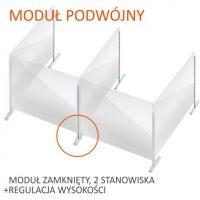 formedia oslony modulowe biurowe na biurko grodziowe na burko oslona fmp 29