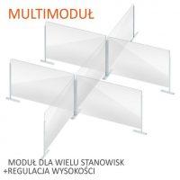 formedia oslony modulowe biurowe na biurko grodziowe na burko oslona multimodul