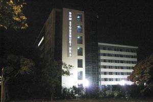 Kaseton podświetlany na budynek