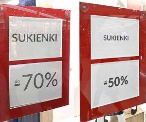 kieszenie do ulotek plakatów cen z pleksi plexi producent Bydgoszcz firma Białe Błota Formedia