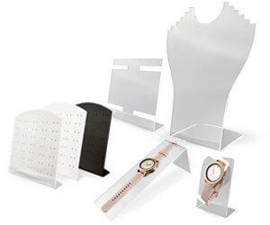 stojaki z pleksi prezentery na bizuterie od producenta do jubilera